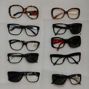 Lot of 10 Versace Sunglasses Frames
